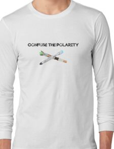 Confuse the Polarity 3 Long Sleeve T-Shirt