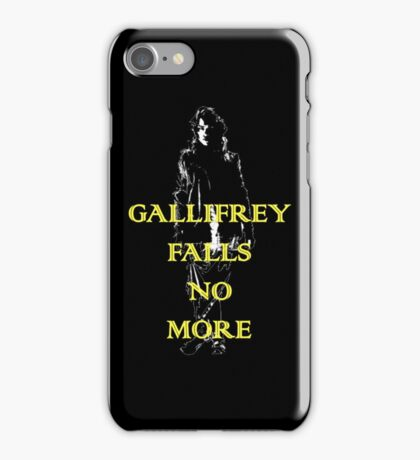 Gallifrey Falls No More iPhone Case/Skin