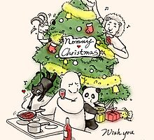 Nommy Christmas by Panda And Polar Bear