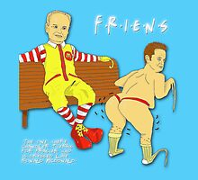The One Where Chandler Twerks For Frasier Who Is Dressed Like Ronald McDonald by friens