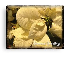 Season's Greatings Canvas Print