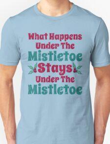 Vintage What Happens Under the Mistletoe T-Shirt