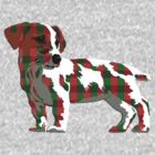 Plaid Jack Russell Terrier by rlnielsen4