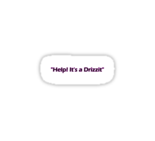 Drizzit Sticker