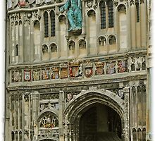 Canterbury, Catedral. by cieloverde
