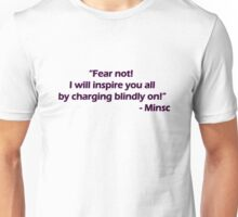 Minsc - Fear Not! Unisex T-Shirt