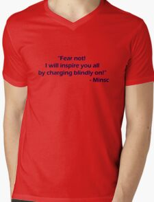 Minsc - Fear Not! Mens V-Neck T-Shirt