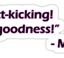 Minsc- Butt-kicking! Sticker
