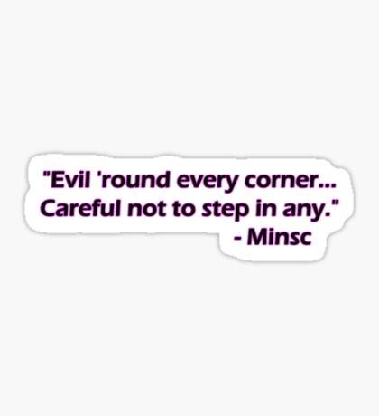 Minsc - Evil Sticker