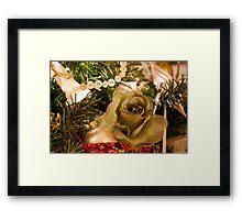 Christmas Flower Framed Print
