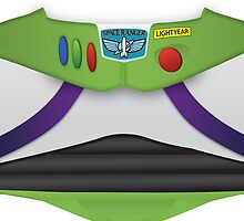 Buzz Lightyear Toy Story iPhone Cover by glucern