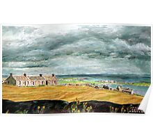 Castle Hill, Stronsay Poster