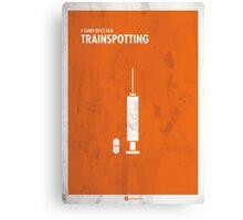 Trainspotting Film Poster Canvas Print