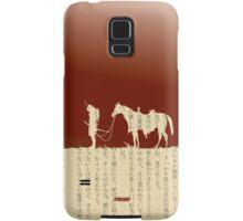 Samurai With Horse Samsung Galaxy Case/Skin