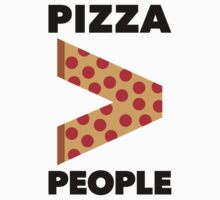 Pizza > People by Look Human