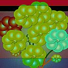 Holiday Grapes by IrisGelbart