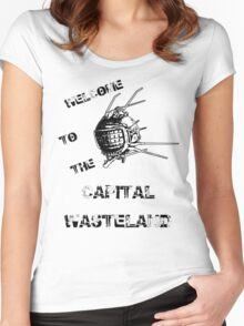 Capital Wasteland Women's Fitted Scoop T-Shirt