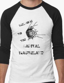 Capital Wasteland Men's Baseball ¾ T-Shirt