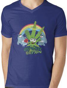 Pain Fighter Mens V-Neck T-Shirt