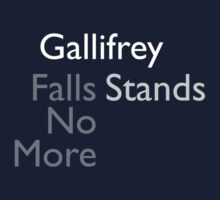 Gallifrey Falls No More/Stands by Christopher Bunye