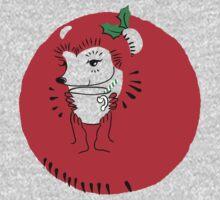 Holly Jolly Hedgehog Kids Tee
