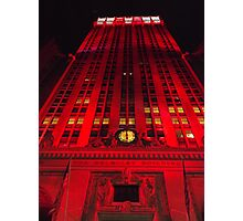 Holiday Lights, Helmsley Building, New York City  Photographic Print