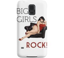 Big Girls Rock Samsung Galaxy Case/Skin