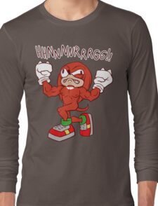 FIGHTING FREAK KNUCKLES Long Sleeve T-Shirt