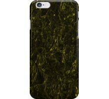 Yellow Fractal Case iPhone Case/Skin