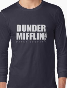 Dunder Mifflin Long Sleeve T-Shirt