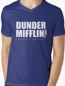 Dunder Mifflin Mens V-Neck T-Shirt