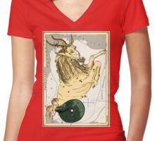 CAPRICORN STAR CLUSTER....an ancient Star Map! Women's Fitted V-Neck T-Shirt