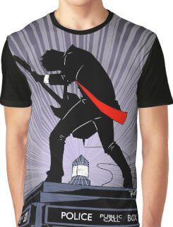 Doctor Who: Shredding Through Time Graphic T-Shirt