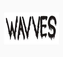 WAVVES - Band Logo Tshirt by SelecRandomness
