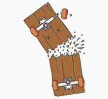 Breaking skateboard by JelleJansen