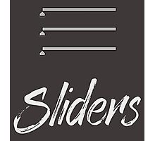 Sliders Photographic Print
