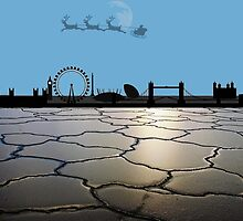 A London Christmas Card. by swaye