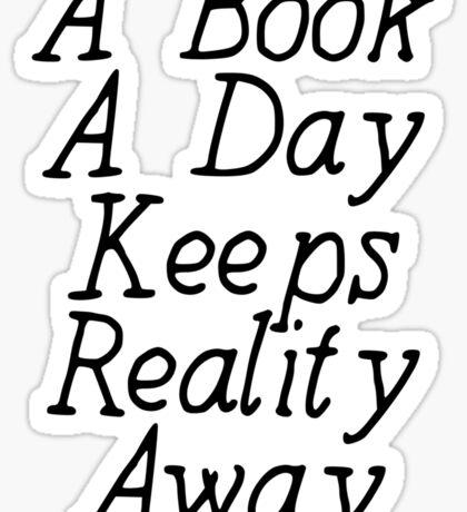 A Book A Day Sticker