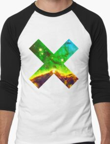 Hubble Dope Cloud Nebula Green Version | Mathematix by Sir Douglas Fresh Men's Baseball ¾ T-Shirt