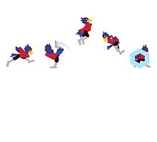Simply Melee Red Falco by chrispocetti