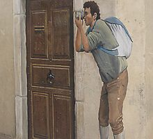 A picture of a picture of a picture taker. by Paul Pasco