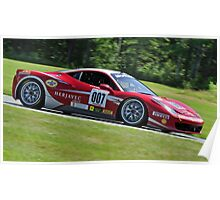 Fast Ferrari Poster