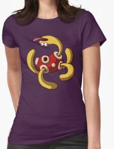 Shuckle Used Rollout! Womens Fitted T-Shirt