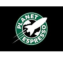 Planet Espresso Photographic Print