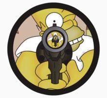 Homer BANG!!! by rafel90