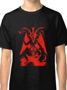 Red Baphomet Classic T-Shirt