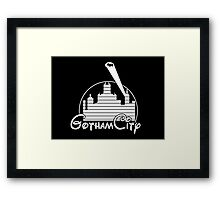 Where screams come true Framed Print