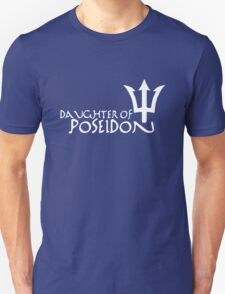 Daughter of Poseidon, in white Unisex T-Shirt