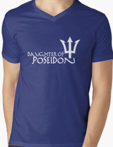 Daughter of Poseidon, in white Mens V-Neck T-Shirt