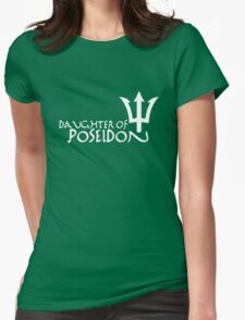 Daughter of Poseidon, in white Womens Fitted T-Shirt